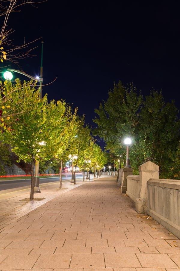 Footpath w Ottawa obraz stock