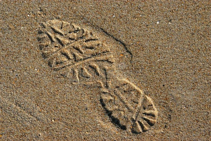 Download Footprint stock image. Image of seashore, sand, background - 5585