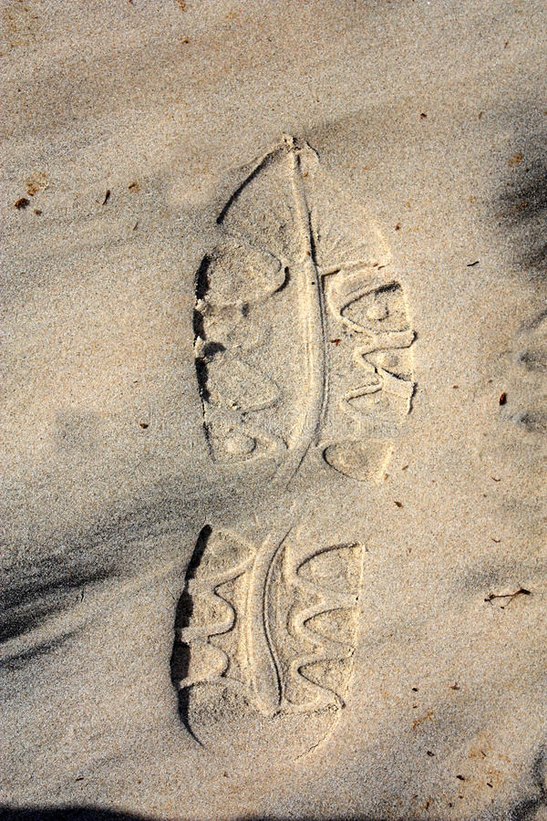 Download Footprint stock photo. Image of barefoot, journey, impression - 10288318