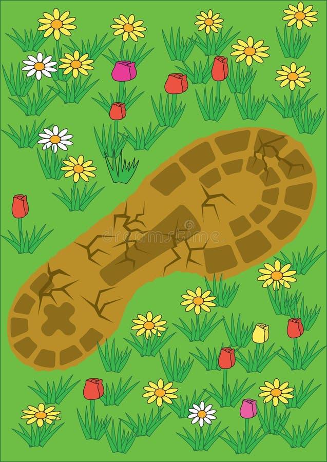 Footprint stock images