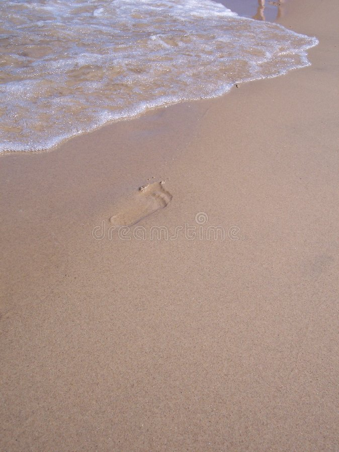 Free Footprint Awaiting Washout Stock Photos - 211733