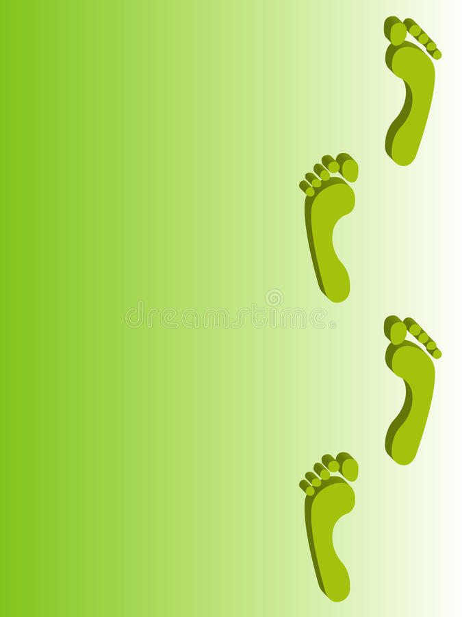 Footprint backgrounds royalty free stock photo