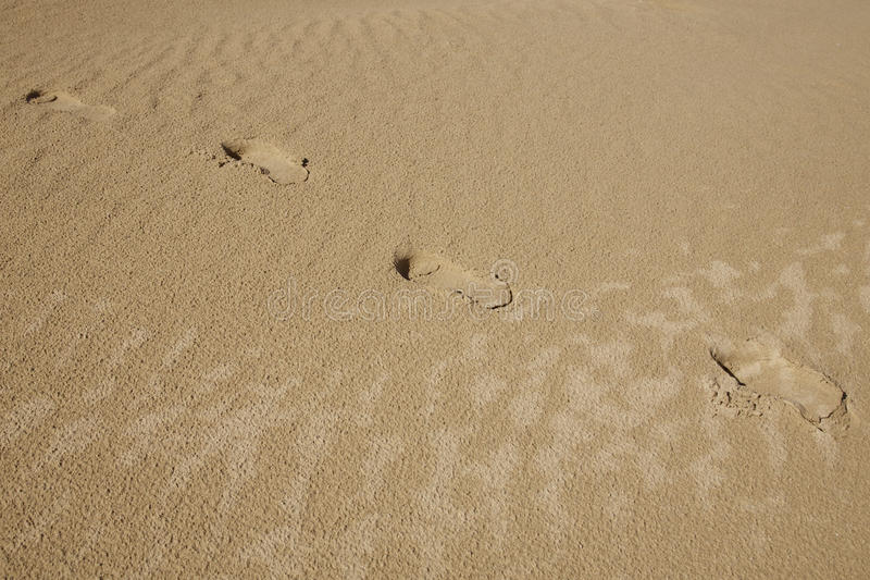 Download Footprints stock image. Image of straight, light, footprint - 15191083