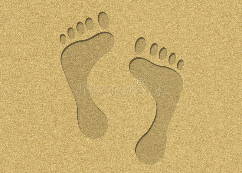 Download Footprints Royalty Free Stock Photo - Image: 15207505