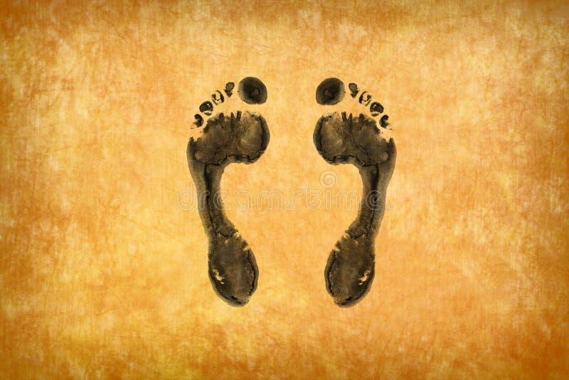 Download Footprints stock illustration. Illustration of footprints - 22280931