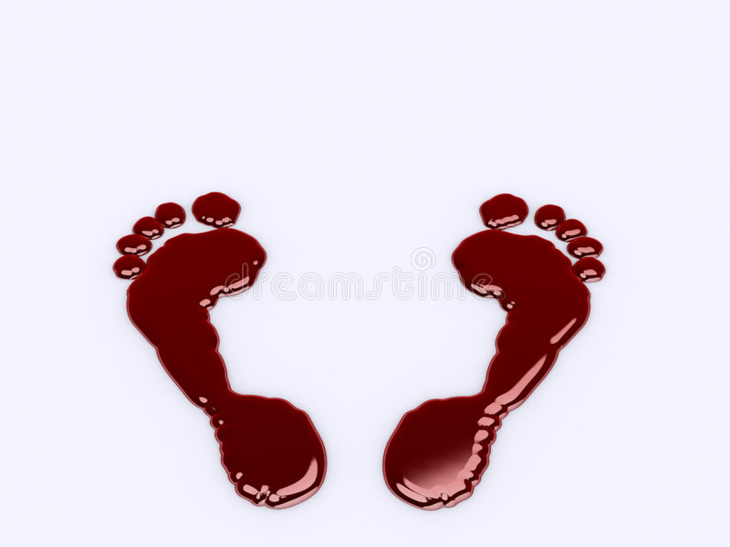Download Footprints Royalty Free Stock Images - Image: 2318179