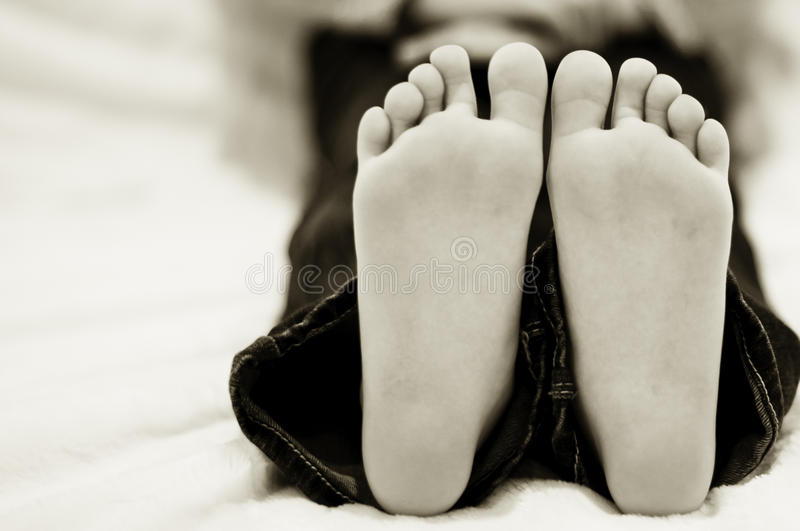 Footprints Stock Photography