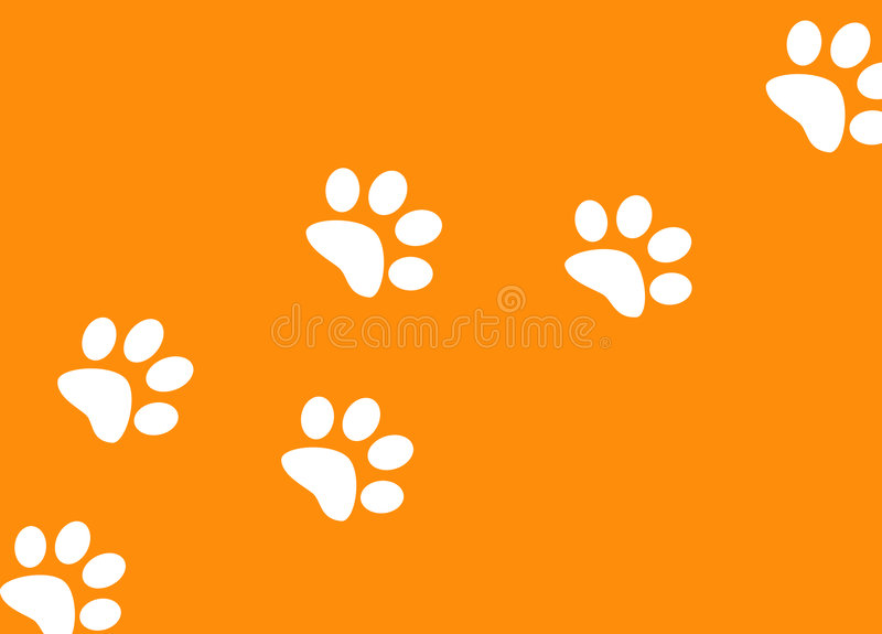 Download Footprints stock illustration. Image of abstract, prints - 3425271