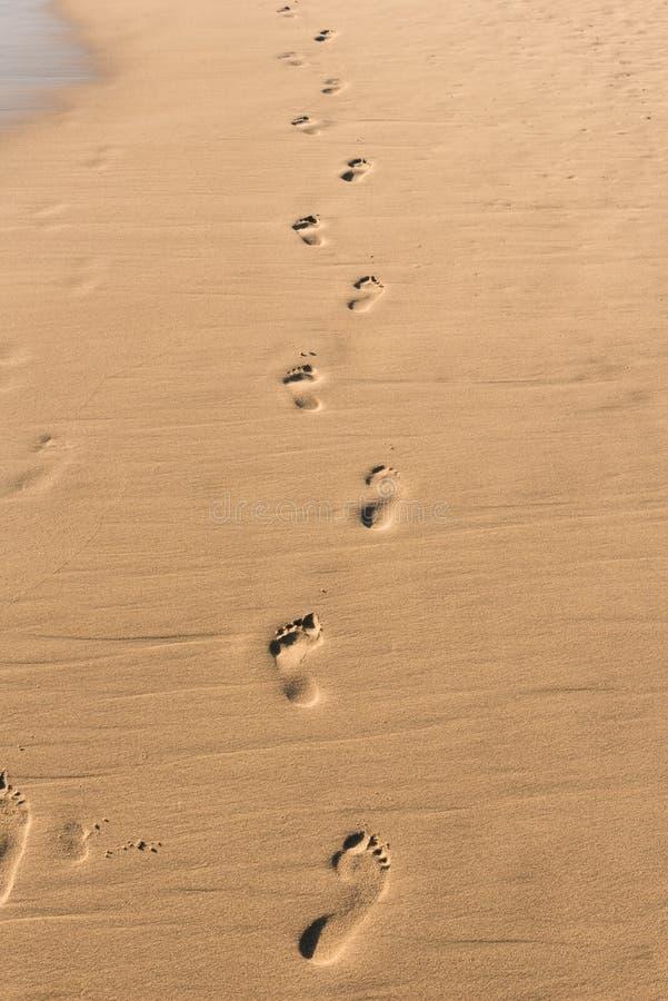 footprints zdjęcie stock