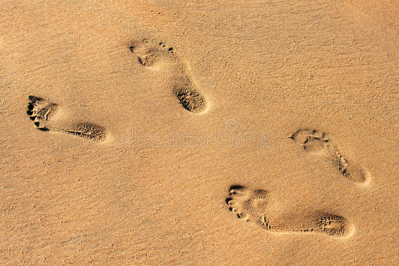 Download Alternating Signs Of Small And Big Feet Stock Photo - Image: 29767632