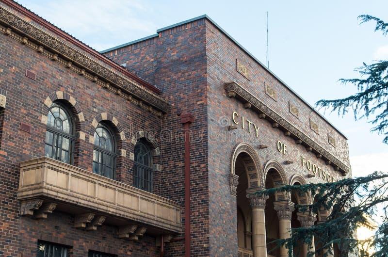 Footscray理事会大厦耶路撒冷旧城  库存图片