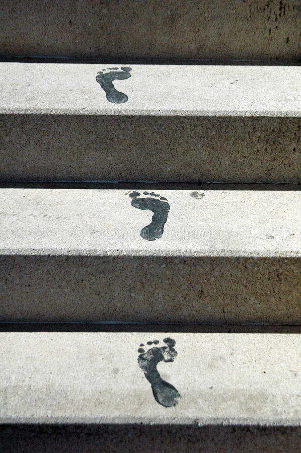 Download Footsteps stock photo. Image of steps, europe, toes, foot - 13002612