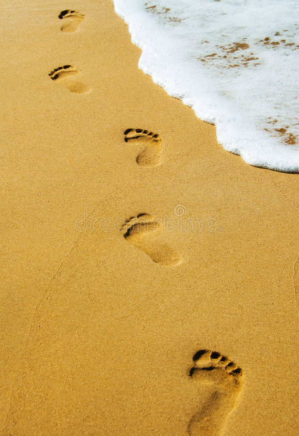Download Footsteps stock photo. Image of vacation, walk, travel - 4297814
