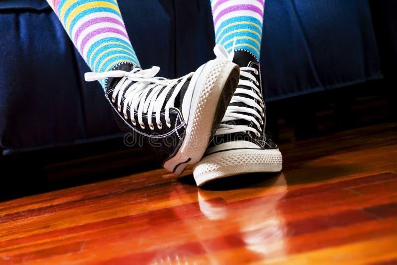 Download Footwear stock image. Image of boredom, attire, multicolored - 4397571