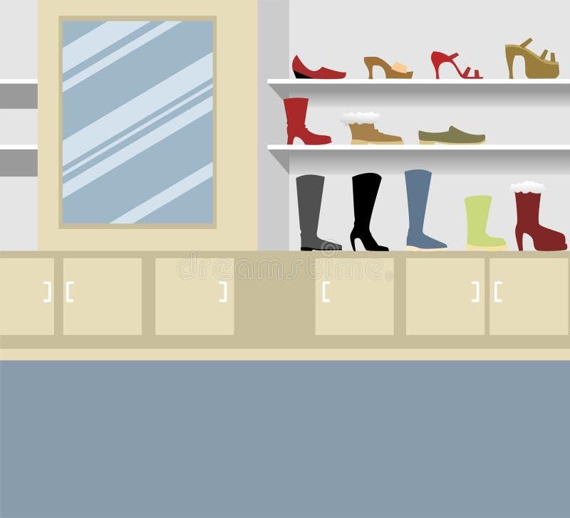 Download Footwear Display Royalty Free Stock Photo - Image: 5809445