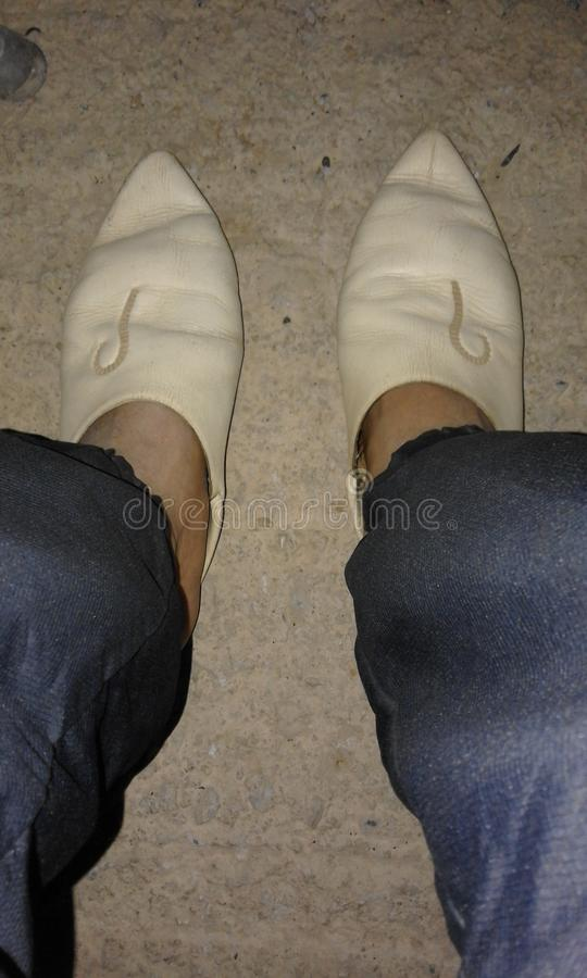 Footwear stock photo