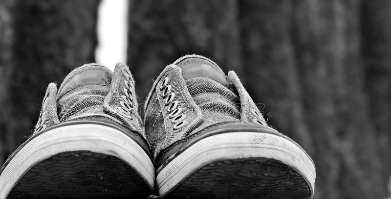 Footwear, White, Black, Photograph royalty free stock photos