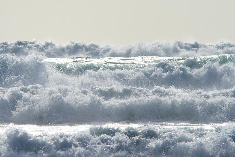 Força do oceano fotos de stock royalty free
