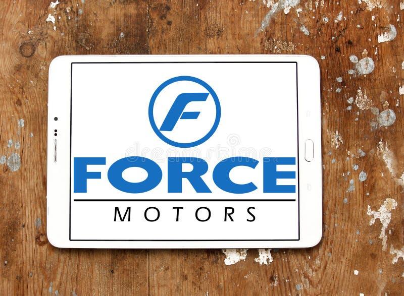 A força viaja de automóvel o logotipo fotografia de stock royalty free
