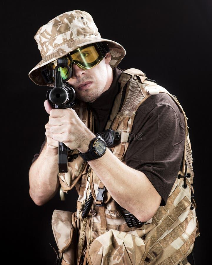 Forças armadas foto de stock