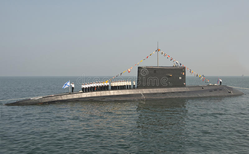 """Forças armadas dia do †da celebração do """"- marinha Rússia imagens de stock"""