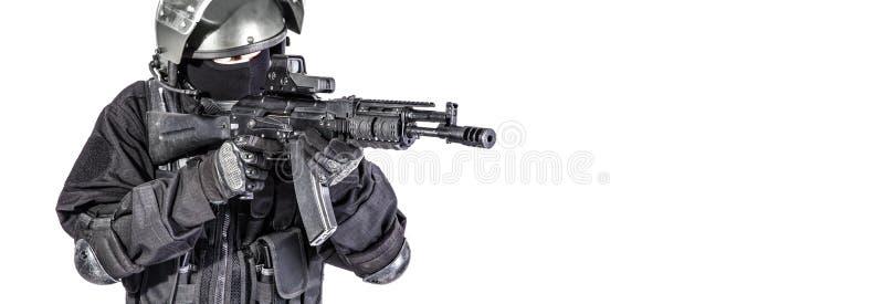 Forças especiais do russo fotografia de stock royalty free