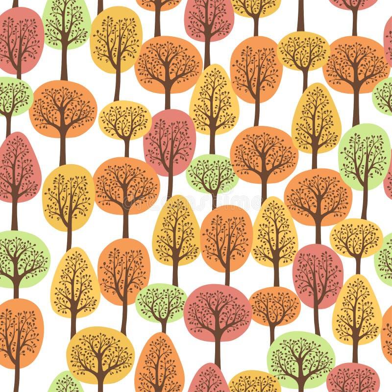 Forêt d'automne illustration libre de droits
