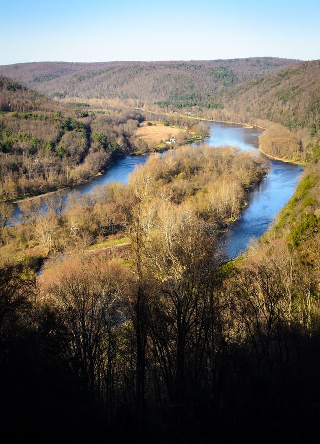 Forêt nationale d'Allegheny image stock