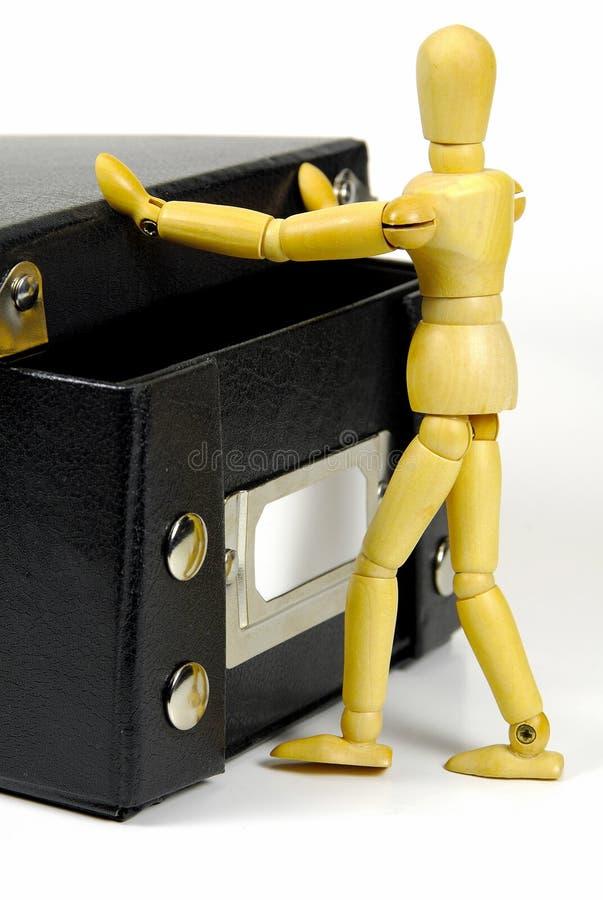 Fora Da Caixa Imagem de Stock
