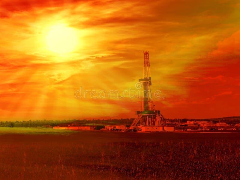 Schiste de gaz photographie stock libre de droits