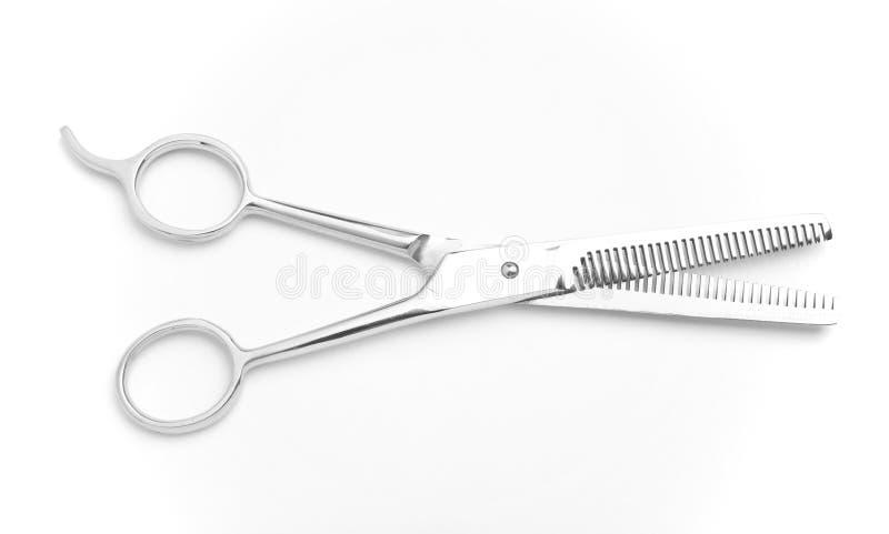 Forbici di taglio dei capelli fotografia stock libera da diritti