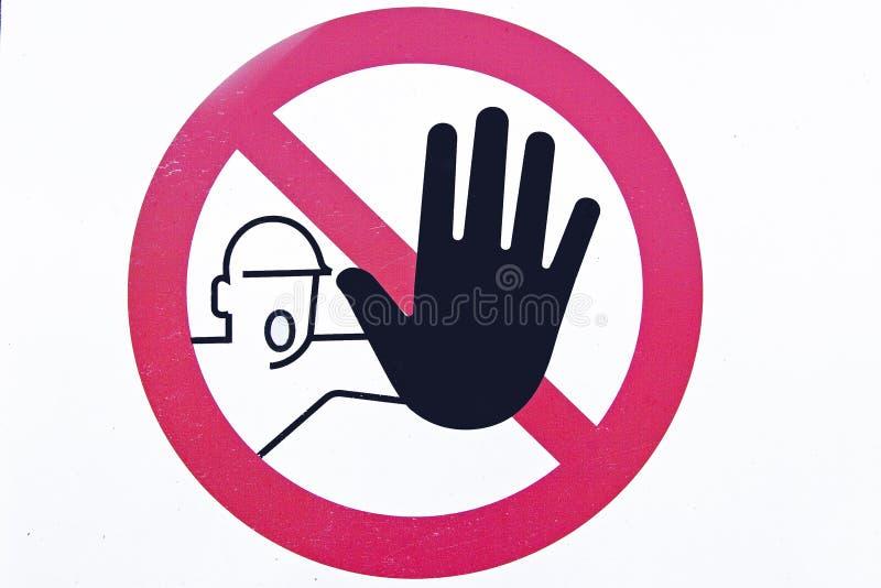 Download Forbidden stock illustration. Image of danger, sign, admission - 15293223