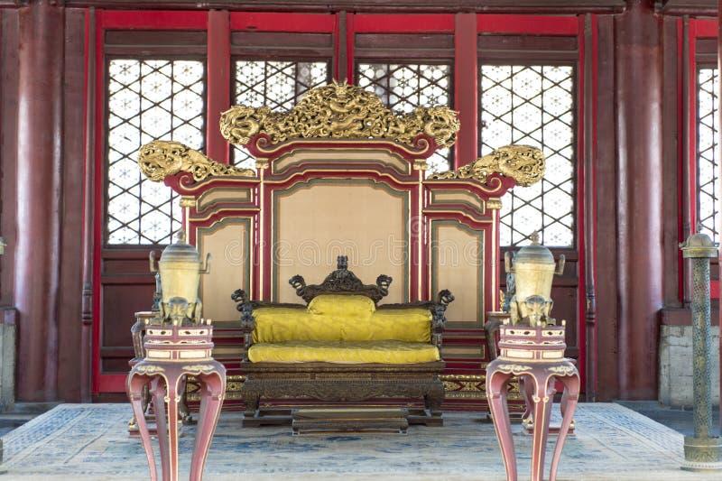 Forbidden City (гонг) Gu, Пекин стоковое фото