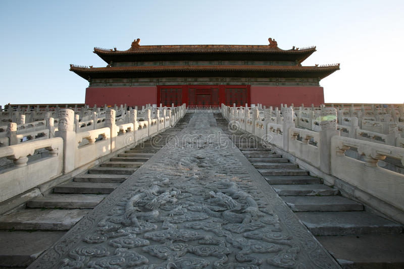 The Forbidden City royalty free stock photos
