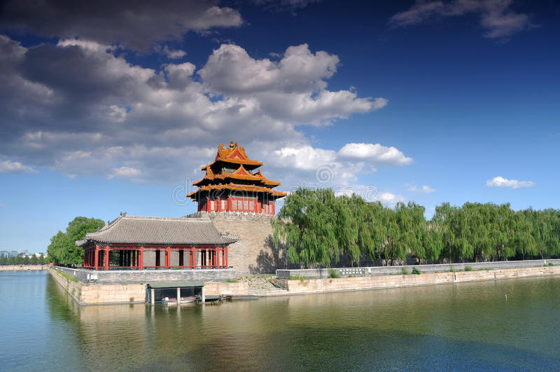 Download Forbidden city stock photo. Image of green, historic - 20288354