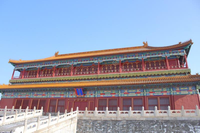 Download Forbidden city stock image. Image of gate, museum, beijing - 28332383