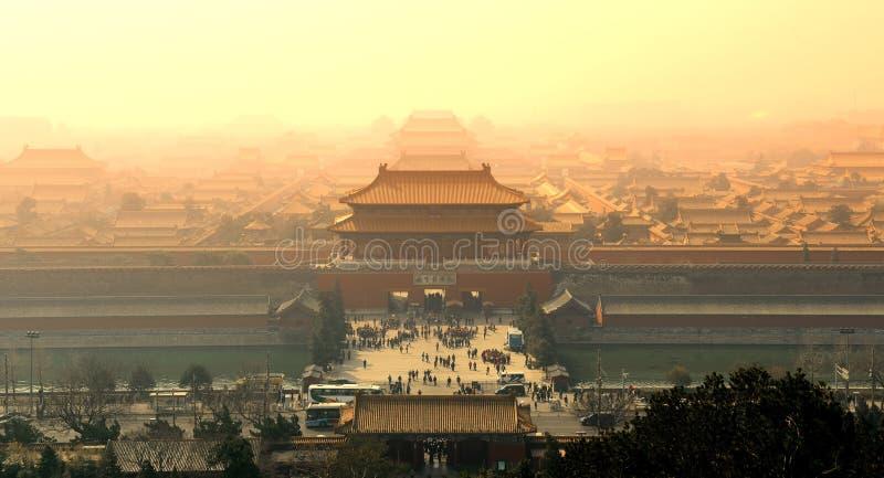 Forbidden City стоковое изображение