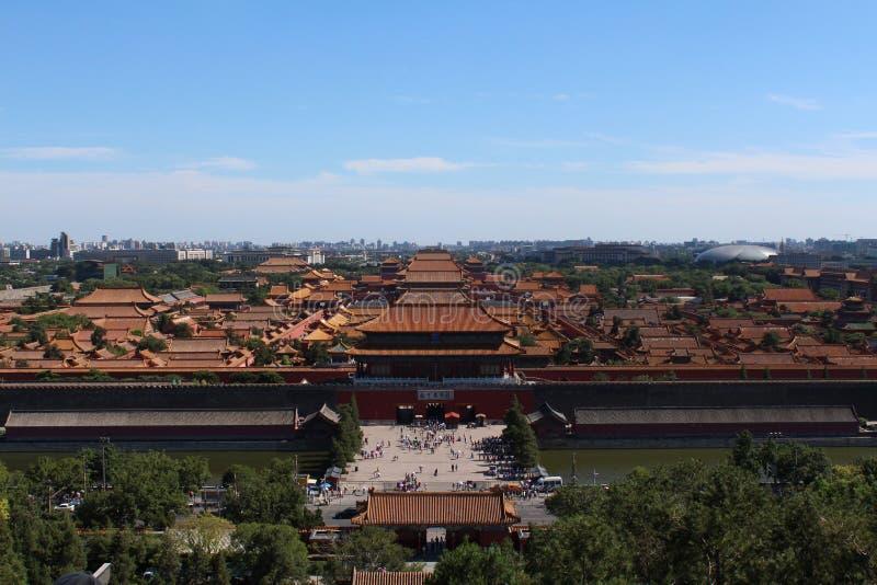 Forbidden City стоковое изображение rf