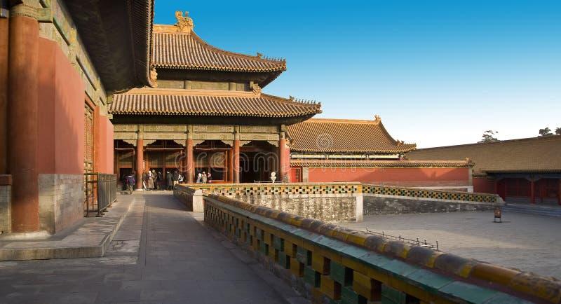 Forbidden city stock photography