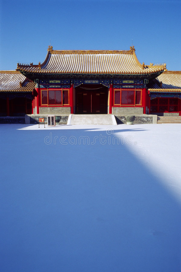 The forbidden city royalty free stock photography