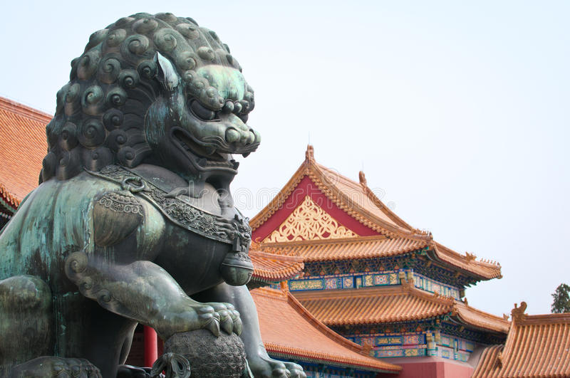 Download Forbidden City in Beijing stock image. Image of chinese - 30694369