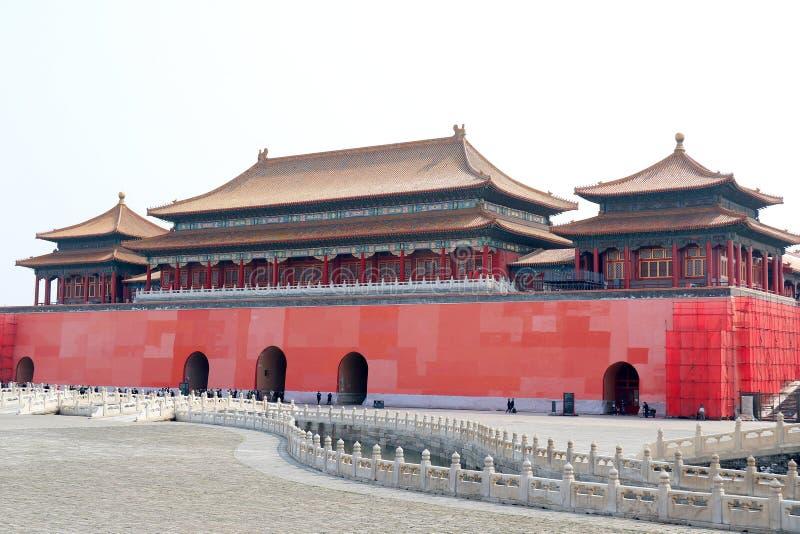 The Forbidden City,Beijing stock photography