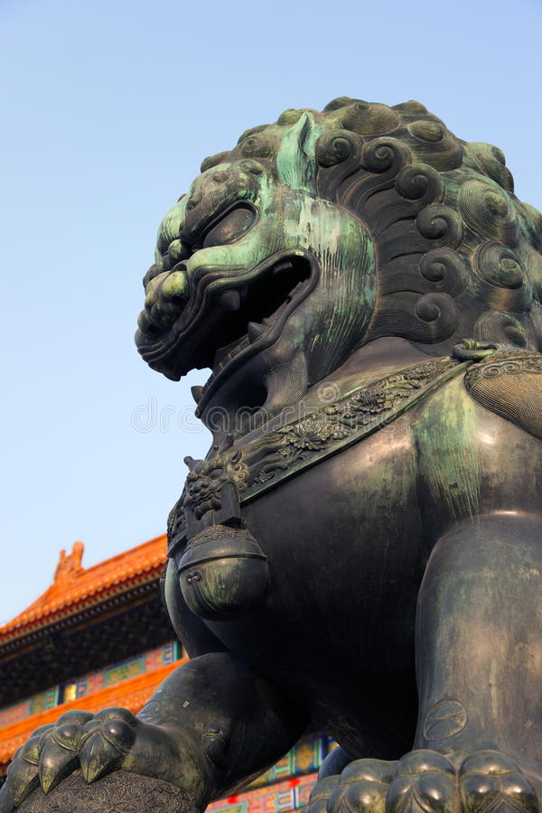 The Forbidden City In Beijing, China Royalty Free Stock Photography
