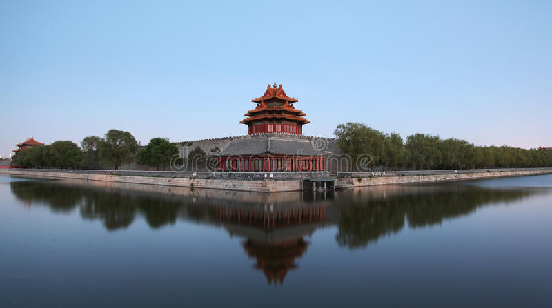 The Forbidden City in Beijing, China stock photos