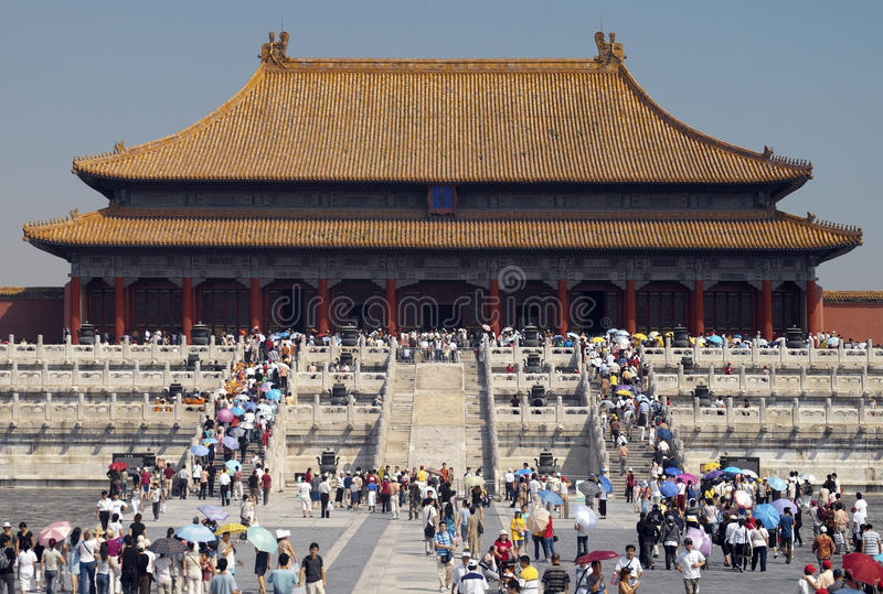 Forbidden City in Beijing - China royalty free stock photo
