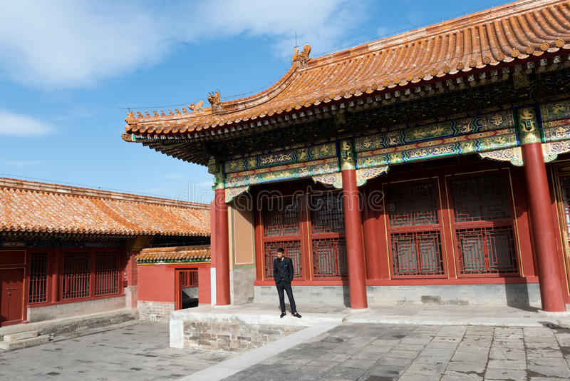 Forbidden City, Beijing, China. stock images