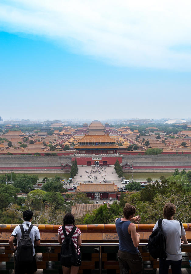 The forbidden city, Beijing, China royalty free stock images