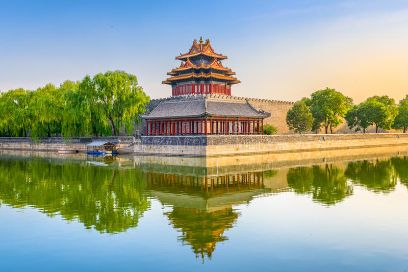 Forbidden City of Beijing royalty free stock image