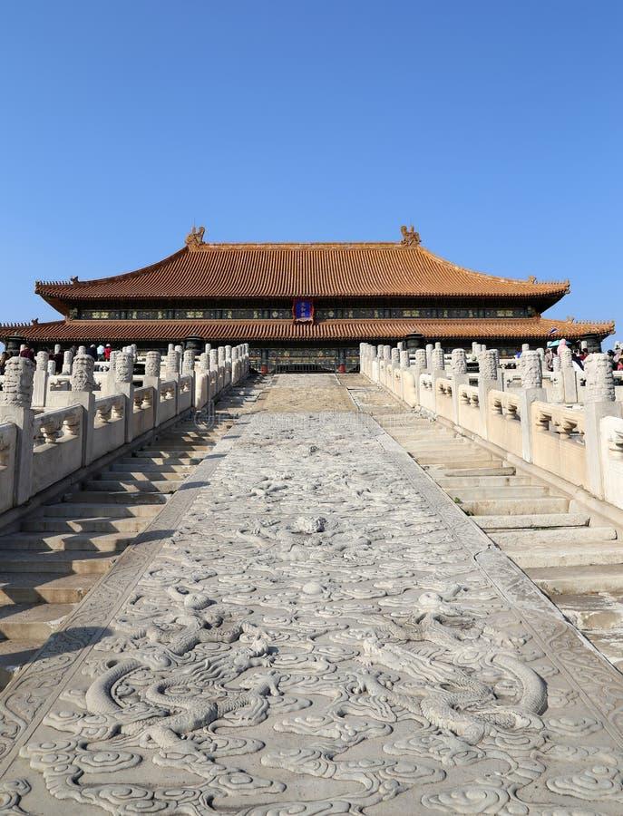 Forbidden City, Beijing, China stock photography