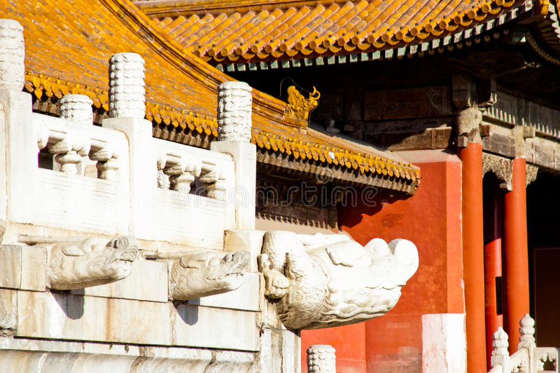 The Forbidden City in Beijing royalty free stock photography